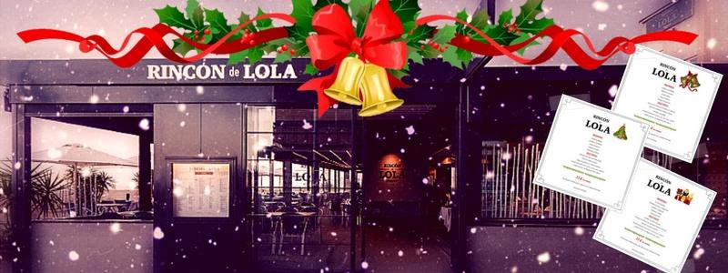 Rincon de Lola - Menu de Fiestas