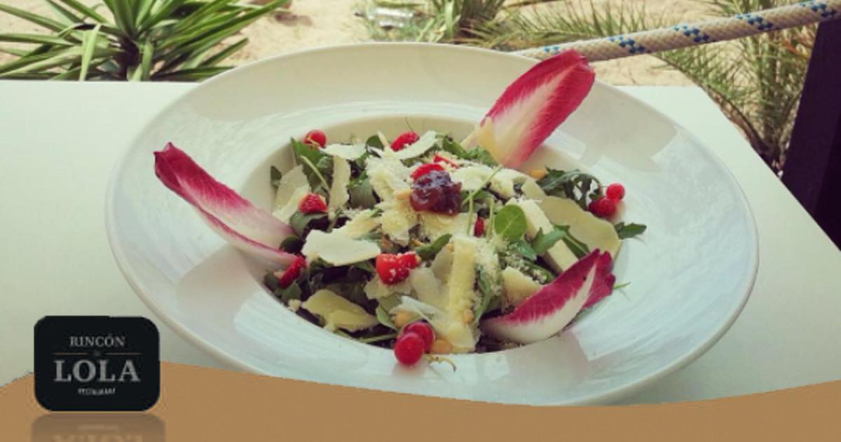 Ven a comer Ensaladas en el Rincón de Lola de Castelldefels